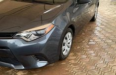 Foreign Used Toyota Corolla 2015 Gray