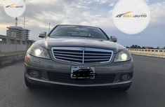 Very Clean Nigerian used Mercedes-Benz C300 2009 Gold