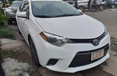 Neat Foreign used Toyota Corolla 2016