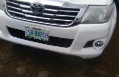 Nigerian Used Toyota Hilux 2013 White