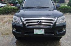 Neat Nigerian used 2010 Lexus LX