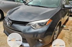 Clean Foreign used Toyota Corolla 2015 Gray