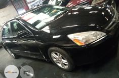 Foreign Used Honda Accord 2006 Black