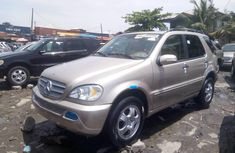 Very Clean Foreign used 2003 Mercedes-Benz ML 320