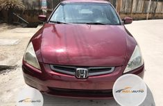 Neat Foreign used Honda Accord Automatic 2005 Red