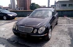 Very Clean Nigerian used Mercedes-Benz E350 2006