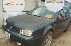 Nigerian Used Volkswagen Golf 2004 Black