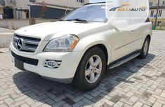 Super Clean Tokunbo Mercedes-Benz GL Class 2008 GL 450 White
