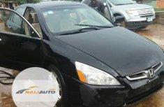 Nigerian Used Honda Accord 2004 Black