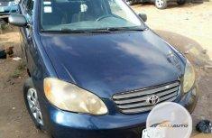 Nigerian Used Toyota Corolla 2004 S Blue