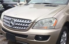 Foreign Used Mercedes-Benz M Class 2006 Gold