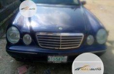 Very Clean Nigerian used Mercedes-Benz E320 2002 Blue