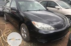Clean Foreign used Toyota Camry 2006 Black