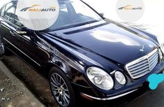 Nigerian Used Mercedes-Benz E350 2006 Black