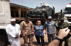 Nigeria Customs hands over intercepted military vehicles to US government
