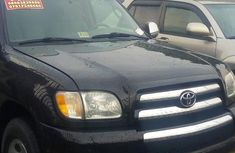 Foreign Used Toyota Tundra 2004 Black
