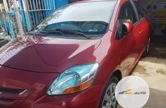 Neat Foreign used Toyota Yaris 1.5 Sedan 2008 Red