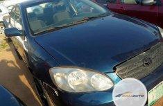 Nigerian Used Toyota Corolla 2004 LE Blue