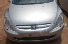 Very Clean Nigerian used Peugeot 307 2006 Silver