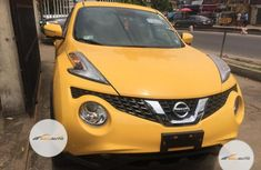 Neat Foreign used  Nissan Juke 2016 Yellow