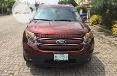 Nigeria Used Ford Explorer 2015 Model Orange