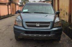 Nigeria Used Honda Pilot EX 2005 Model Blue