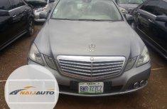 Nigerian Used Mercedes-Benz E350 2011 Gray