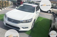 Very Clean Foreign used Honda Accord 2014 White