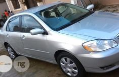 Foreign Used Toyota Corolla 2004 Silver