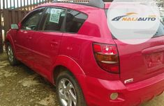 Foreign Used Pontiac Vibe 2006 AWD Red