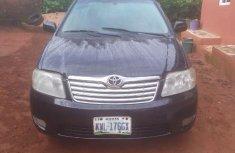 Nigeria Used Toyota Corolla 2004 Model Black