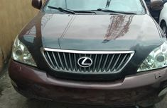 Foreign Used Lexus RX 2007 Model Brown