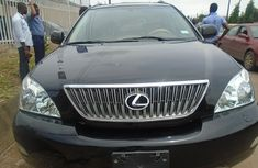 2004 Lexus SUV RX330 Black Nigerian Used Jeep in Lagos