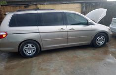 2005 Honda Odyssey Foreign Used Gold Minibus