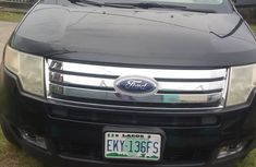 2007 Ford Edge Nigerian Used Black SUV in Lagos