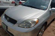 Nigerian used Toyota Matrix 2004 Silver Hatchback