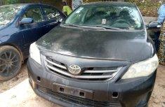 Nigeria Used Toyota Corolla 2008 Black Sedan
