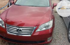 Very Clean Foreign used Lexus ES 2010 350 Red