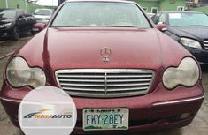 Nigeria Used Mercedes-Benz C240 2004 Model Red