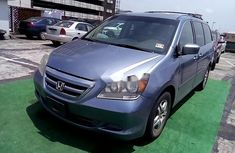 Properly maintained Nigerian used Honda Odyssey 2005