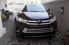 Foreign Used Toyota Highlander 2018 Red