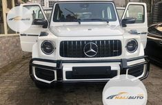 Very Clean Foreign used Mercedes-Benz G-Class 2019 White