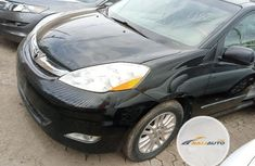 Foreign Used Toyota Sienna 2010 Model Black