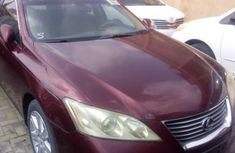 Neat Foreign used Lexus ES 2008 350 Red