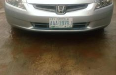Nigeria Used Honda Accord Sedan EX 2004 Model Silver