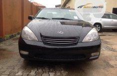 Foreign Used Lexus ES 2003 Model Black