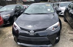 Used Toyota Corolla Foreign 2015 Model  Grey