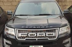 Nigeria Used Ford Explorer 2014 Model  Black