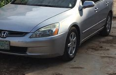 Nigerian Used Honda Accord 2003 Automatic Silver