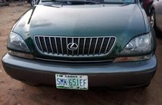 Nigeria Used Lexus RX 2000 Model Green